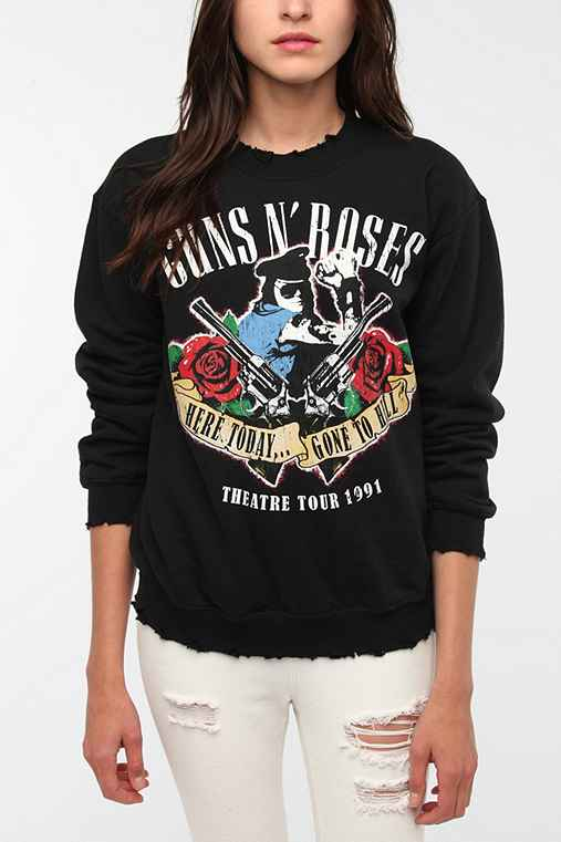 Guns 'N Roses Rock Band Sweatshirt