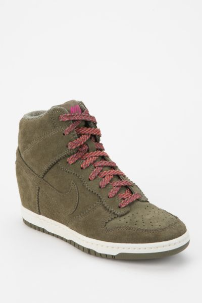 Nike Tonal Dunk High-Top Wedge-Sneaker
