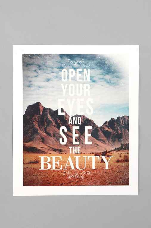 Thumbnail image for Zach Terrell For Society6 The Beauty Print