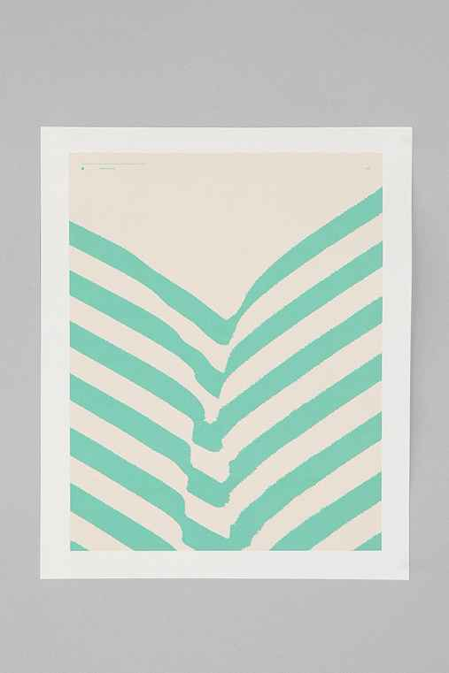 Matthew Korbel Bowers For Society6 Park Plants Print
