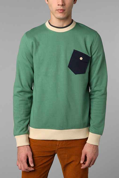 CPO Fleece Pocket Crew Sweatshirt