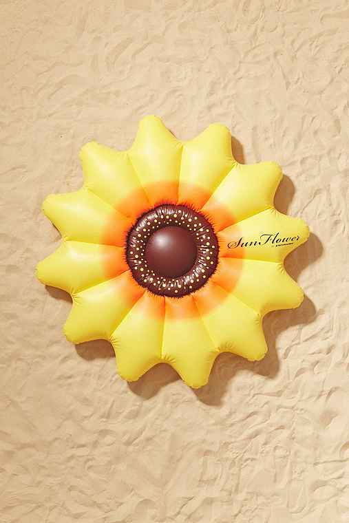 Sunflower Pool Float,ASSORTED,ONE SIZE