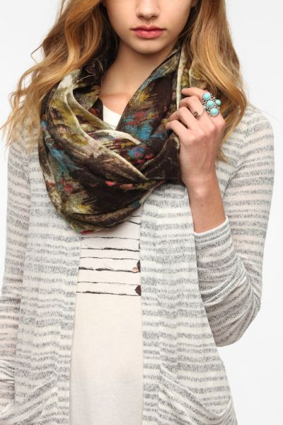 Silence & Noise Abstract Eternity Scarf