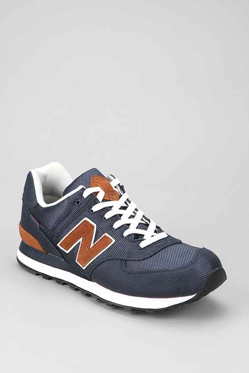 New Balance 574 Backpack Sneaker: Navy 8 Mens Sneakers