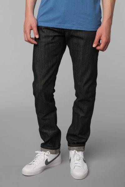 Unbranded Tapered Black Selvedge Jean