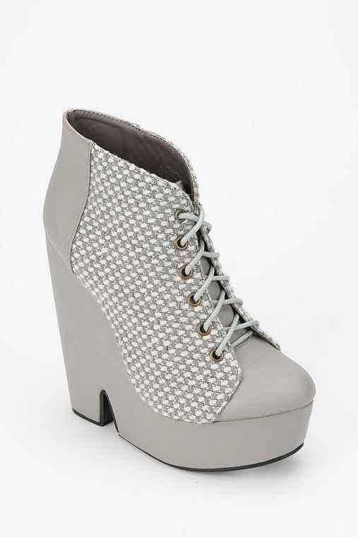 Deena & Ozzy Split-Wedge Ankle Boot