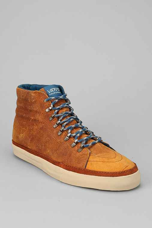 Vans California Sk8-Hi Leather Hiker Shoe