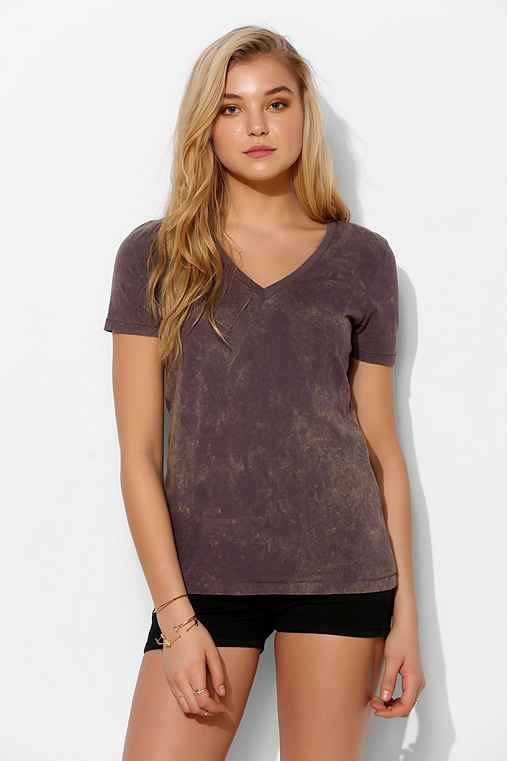 BDG Washed V-Neck Tee