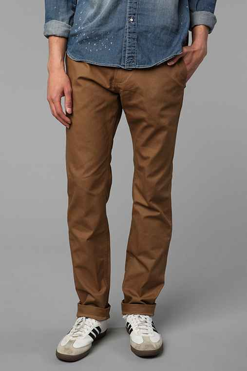 OBEY Trademark Waxed Cotton Chino