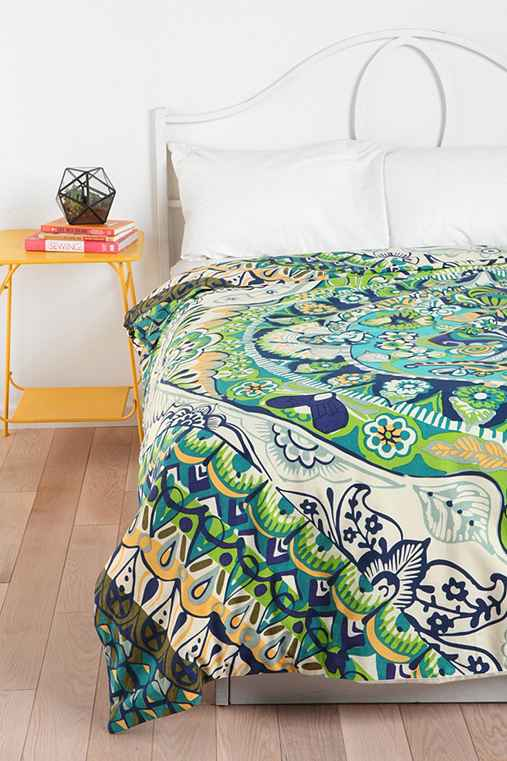 Magical Thinking Painted Mandala Duvet Cover