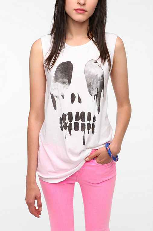 Hometown Heroes Dripping Skull Muscle Tee