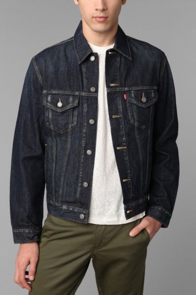 Levi's Gridlock Denim Trucker Jacket