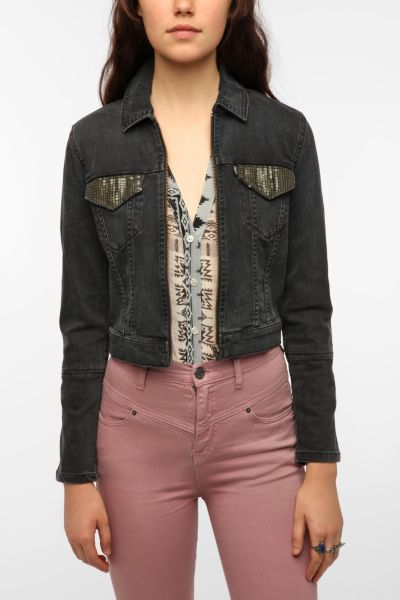 Levi's Embellished Trucker Jacket