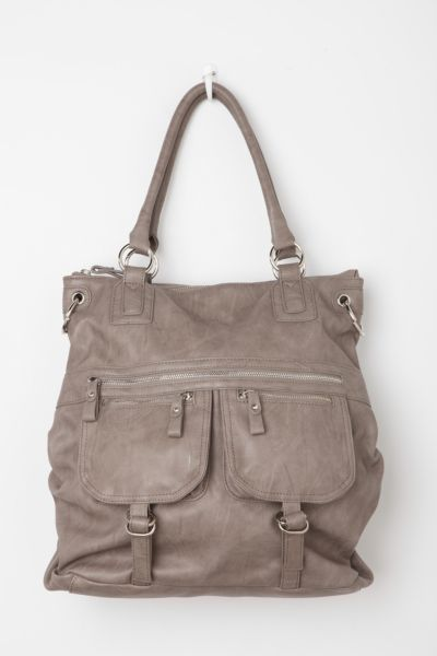 Deena & Ozzy Mixed Pocket Tote Bag