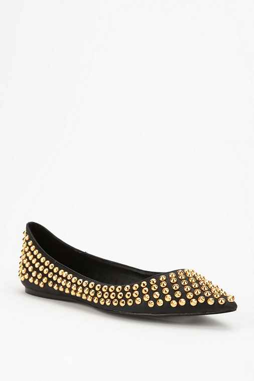 Steve Madden All-Over Stud Skimmer