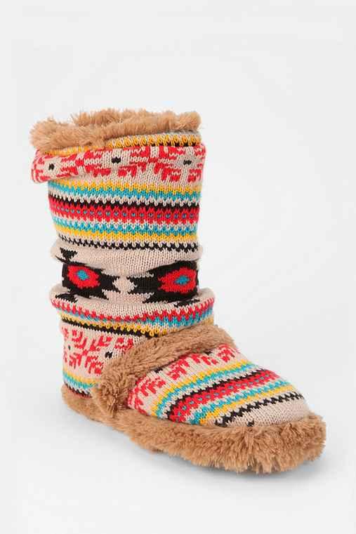 MUK LUKS Daphne Slipper-Sock Boot
