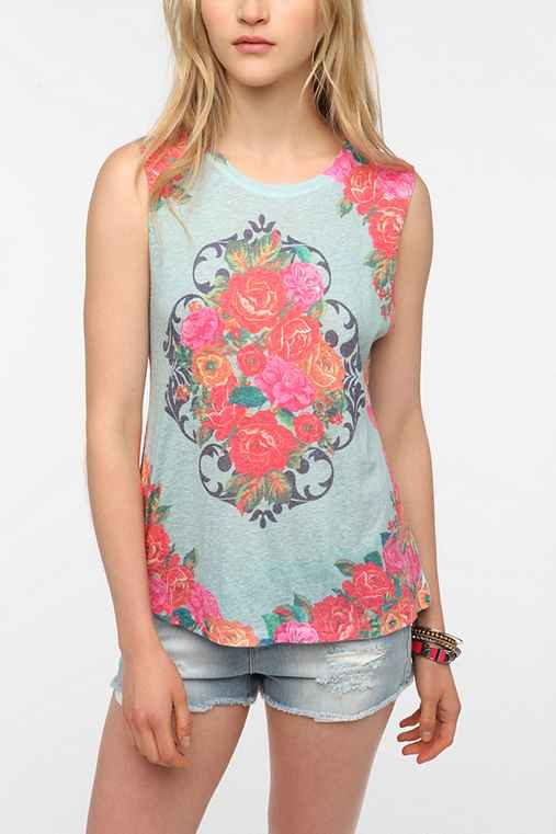 Daydreamer LA Queen Garden Muscle Tee