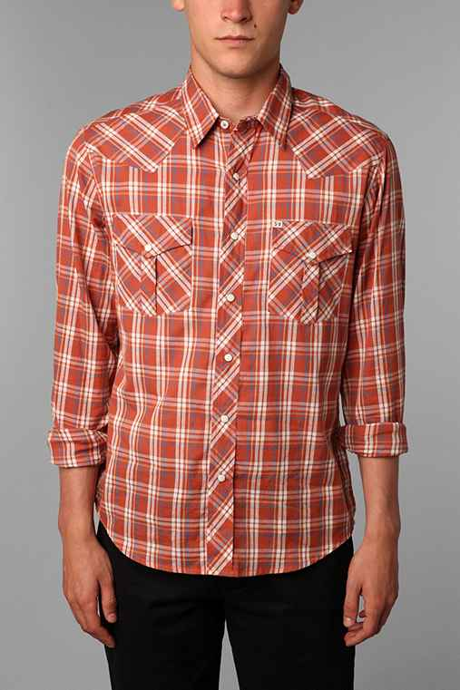 Salt Valley Austin Plaid Western Shirt