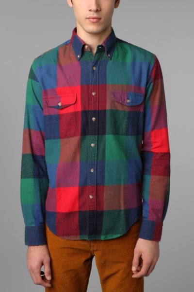 GANT Rugger Country Big Check 2-Pocket EZ Shirt