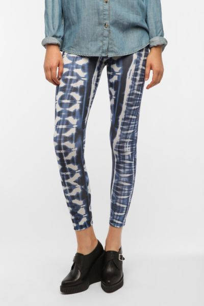 Out From Under Indigo Starburst Legging