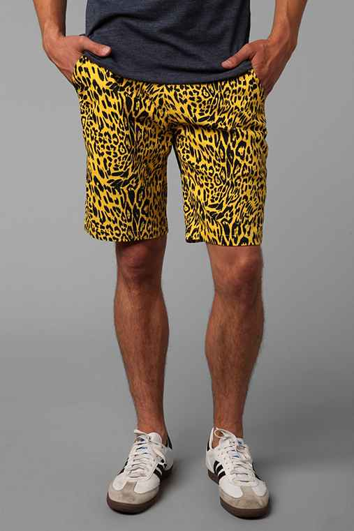 Koto Cheetah Print Short