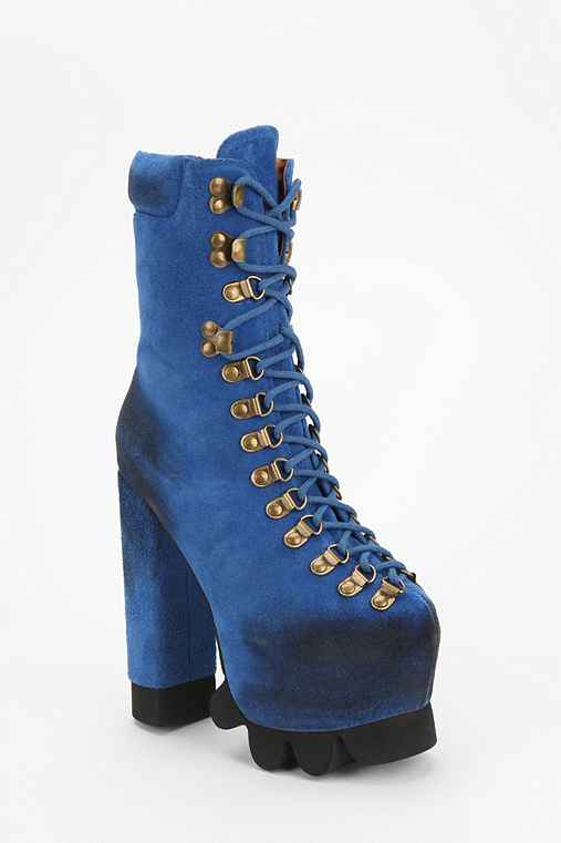 Jeffrey Campbell Kick It Platform Hiker Boot