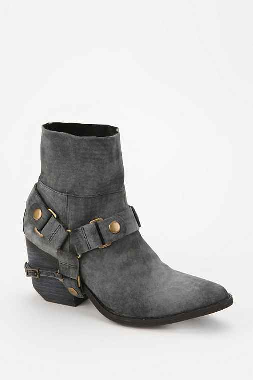 Jeffrey Campbell Roswell Moto Ankle Boot