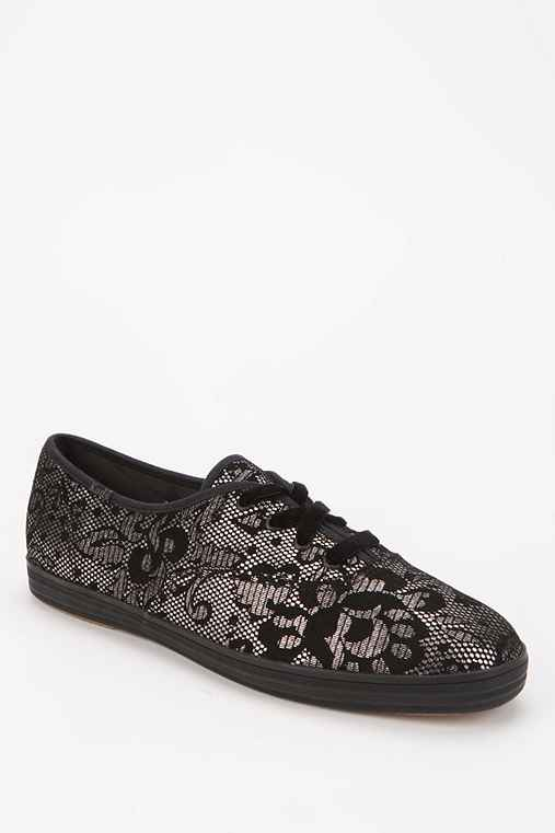 Keds Champion Lace-Suede Sneaker