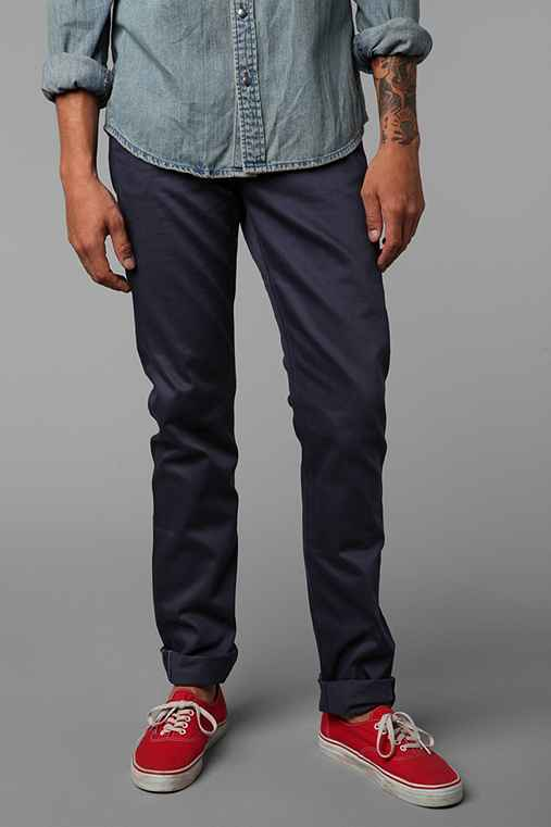 Unbranded Skinny 5-Pocket Selvedge Chino Pant