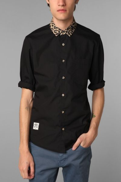 Civil Short-Sleeve Cheetah Shirt
