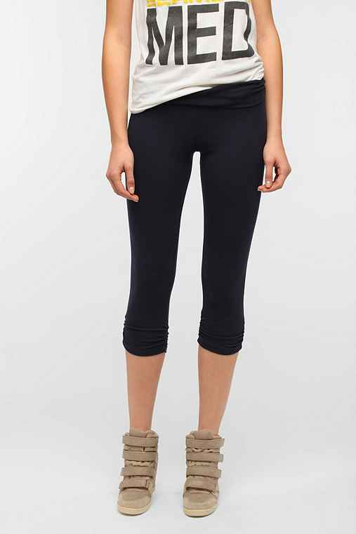 Coincidence & Chance Fold-Over Cropped Legging