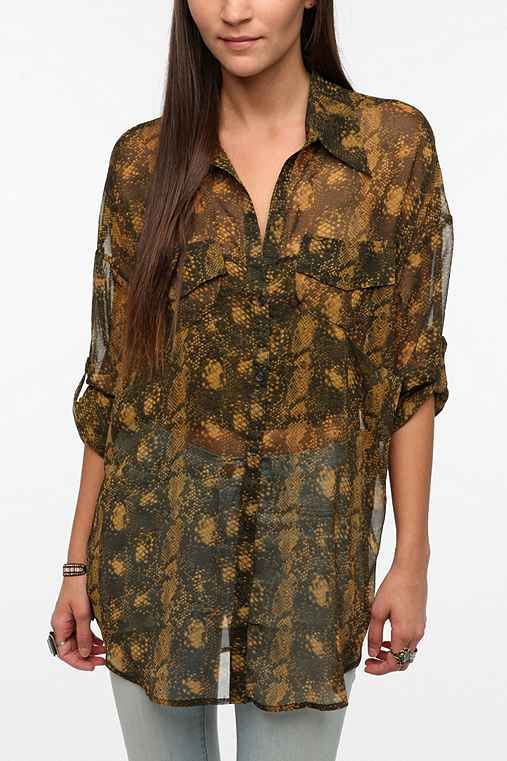 BB Dakota Valencia Tunic Blouse