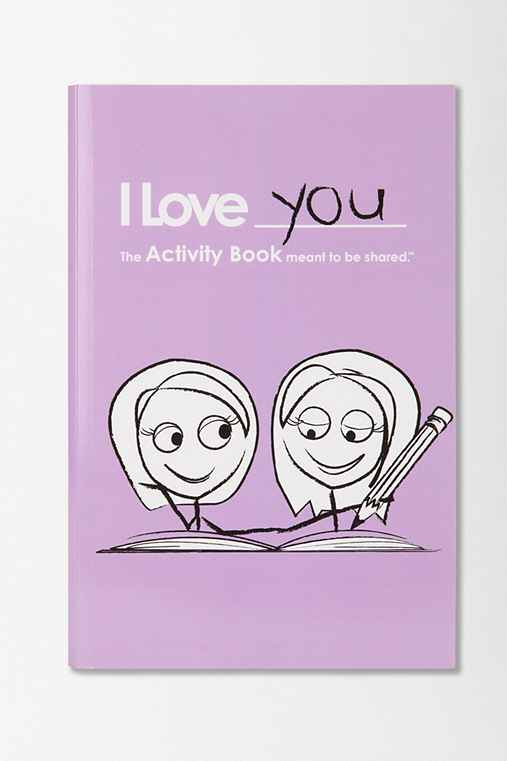 I Love You Activity Book For Girl/Girl Couples By LoveBook & Robyn Durst