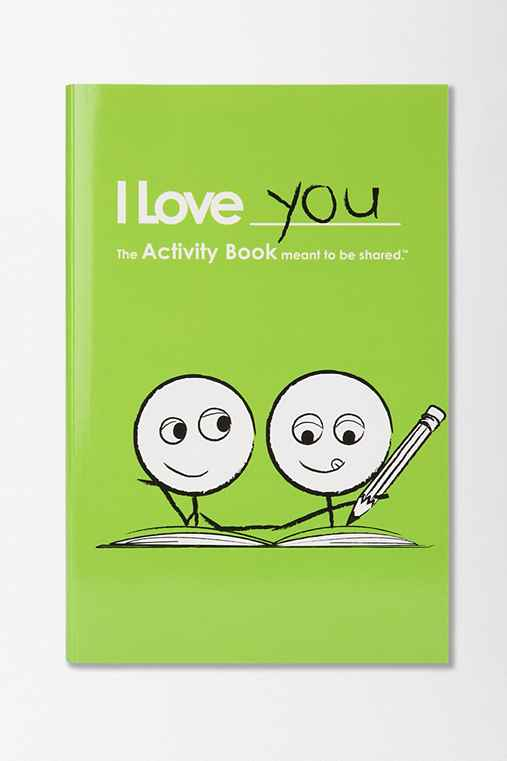 I Love You Activity Book For Boy/Boy Couples By LoveBook & Robyn Durst
