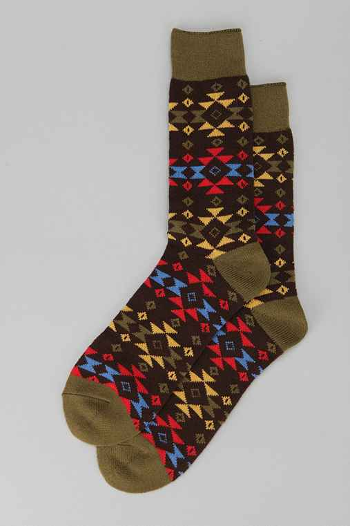 Southwestern Camp Sock