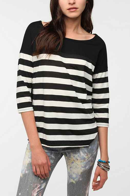 Daydreamer LA Drop Stripe Tee