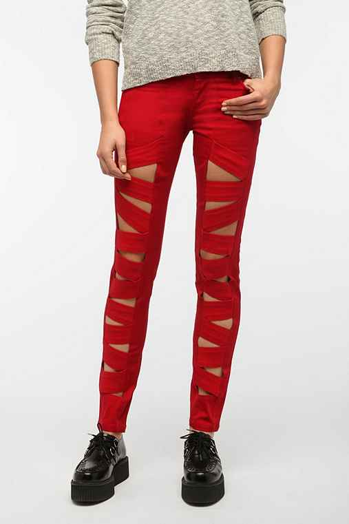 Tripp NYC Z-Cut Jean - Red