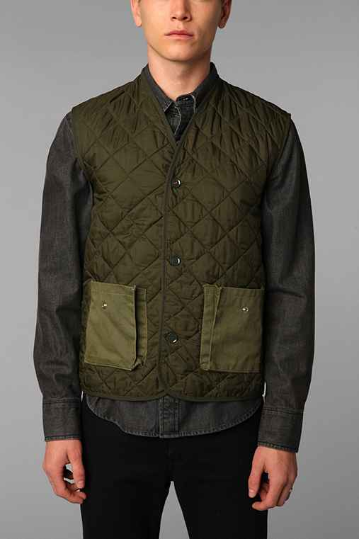 WAAR for Urban Renewal Paine Quilted Nylon Vest