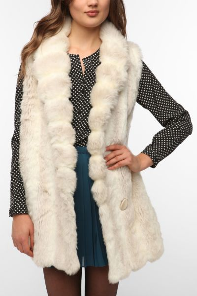 Urban Renewal Faux Fur Vest