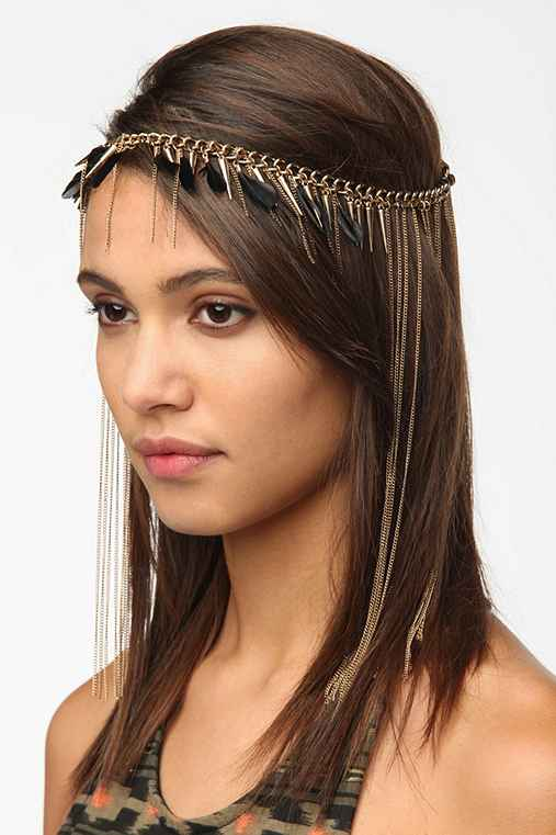 Alexandria Goddess Chain Headwrap