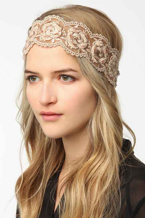 Lace Roses Headwrap