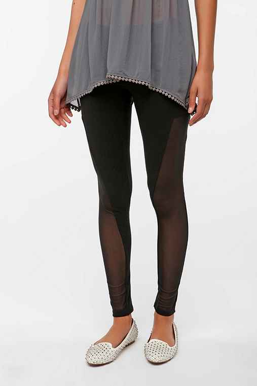 Out From Under Mesh Panel Legging