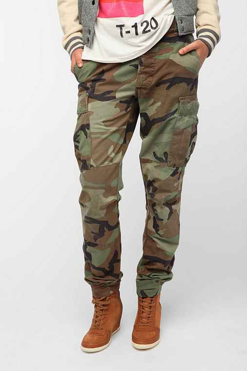 SNAP x Urban Renewal Tapered Army Pant
