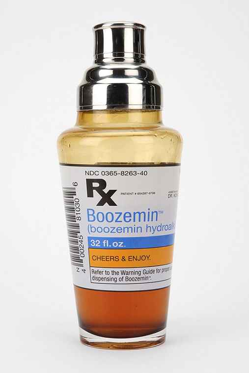 Boozemin Cocktail Shaker