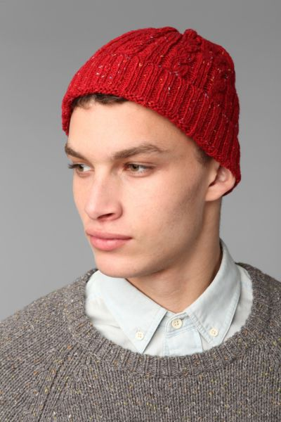 UO Speckled Cable Watch Cap