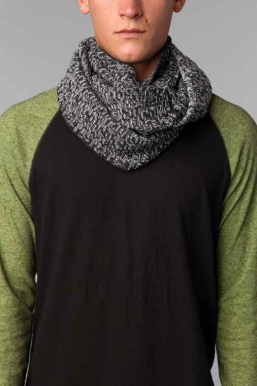 UO Marled Twist Eternity Scarf