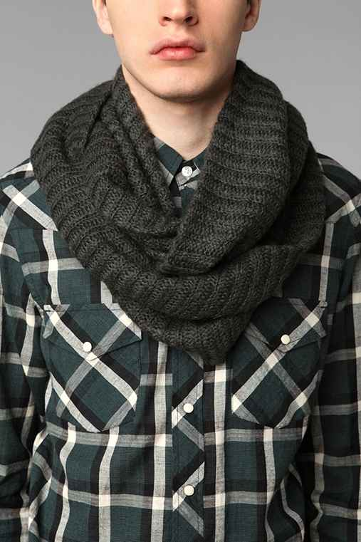 Breezy Brushed Eternity Scarf