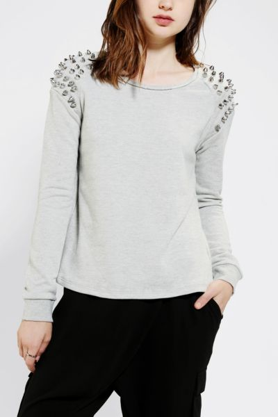 Silence + Noise Super Studded Sweatshirt