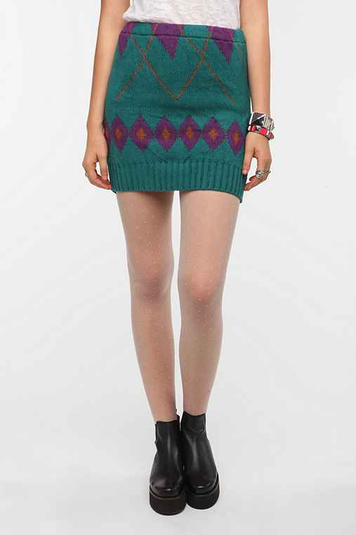 Urban Renewal Pull-On Sweater Skirt