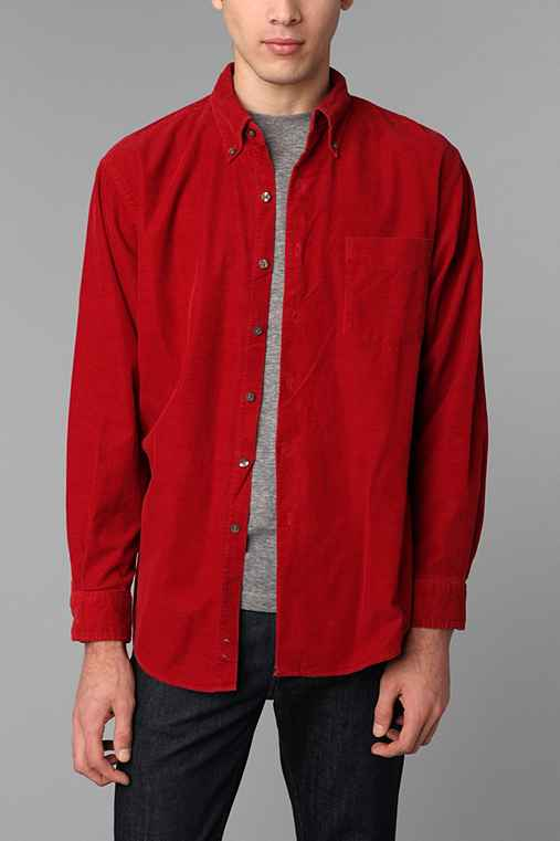 Urban Renewal Vintage Men's Corduroy Shirt